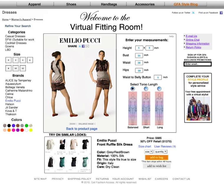 tobi virtual dressing room  e5c7428ea