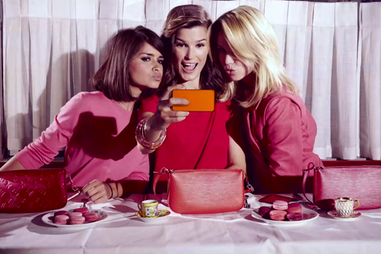 Miroslava Duma, Hanneli Mustaparta and Elin Kling for Louis Vuitton