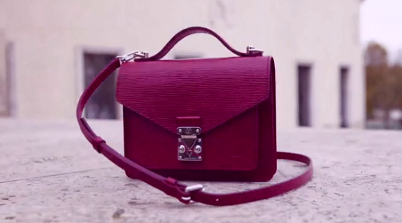 Louis Vuitton crossbody bag cherry