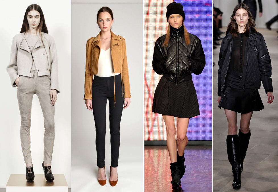 Cropped Jacket Trend at NYFW Fall 2013