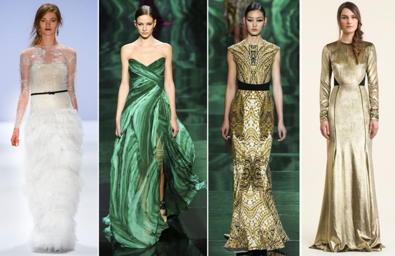 Gowns NYFW Fall 2013