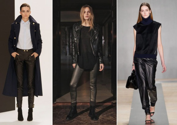 Leather Pants Trend at NYFW Fall 2013