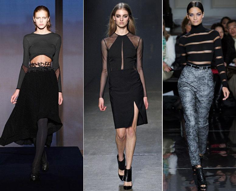 Sexy Cutouts Trend NYFW Fall 2013