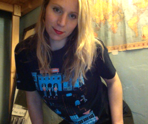You and Who T-Shirt Ksenia