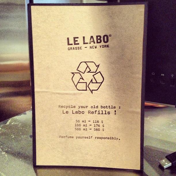 Le Labo Instagram Nolita Perfume handmade boutique